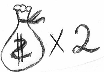 دو برابر کردن درآمد