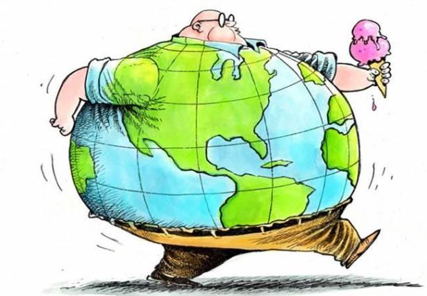 چاقی در جهان